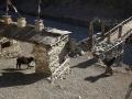 Nepalisischer Dorf