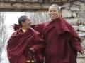 Buddhistische Frauen Mönche